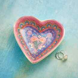 SPRING JARDIN HEART DISH