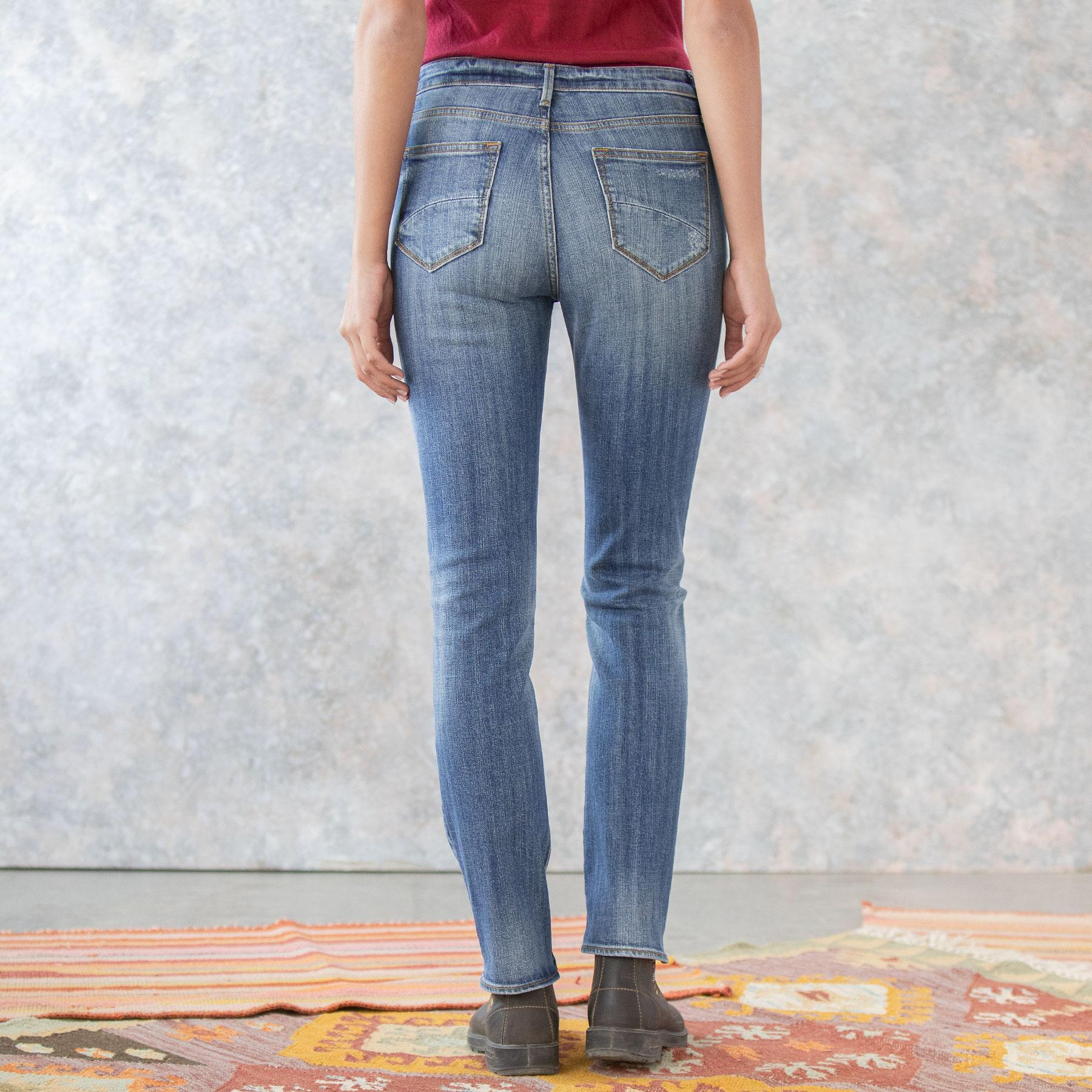 AUDREY HIGH RISE JEANS: View 3