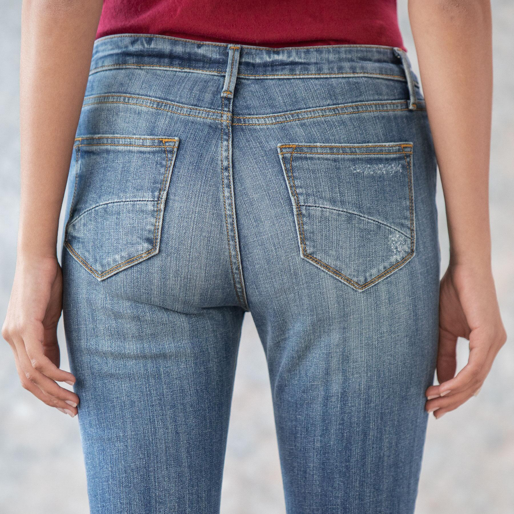 AUDREY HIGH RISE JEANS: View 5