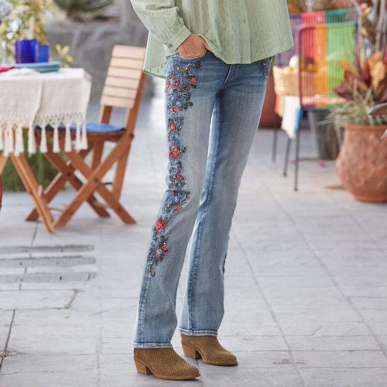 KELLY MULBERRY BLOSSOM JEANS