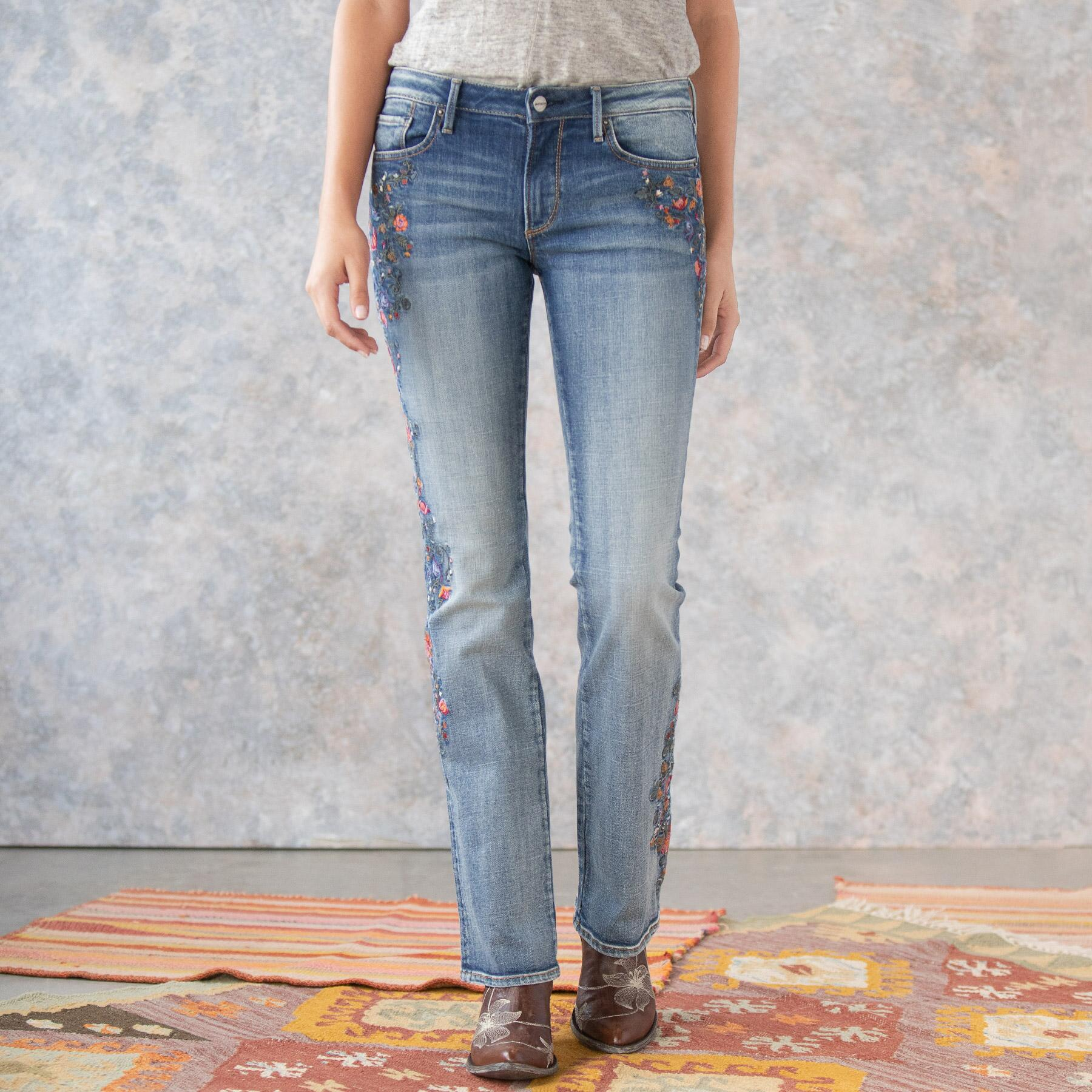 KELLY MULBERRY BLOSSOM JEANS: View 3