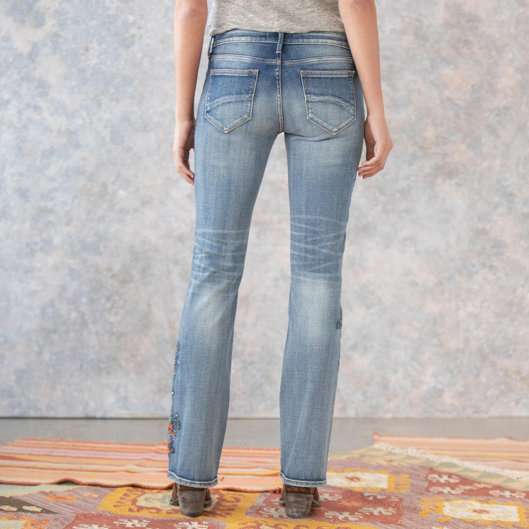 KELLY MULBERRY BLOSSOM JEANS: View 5