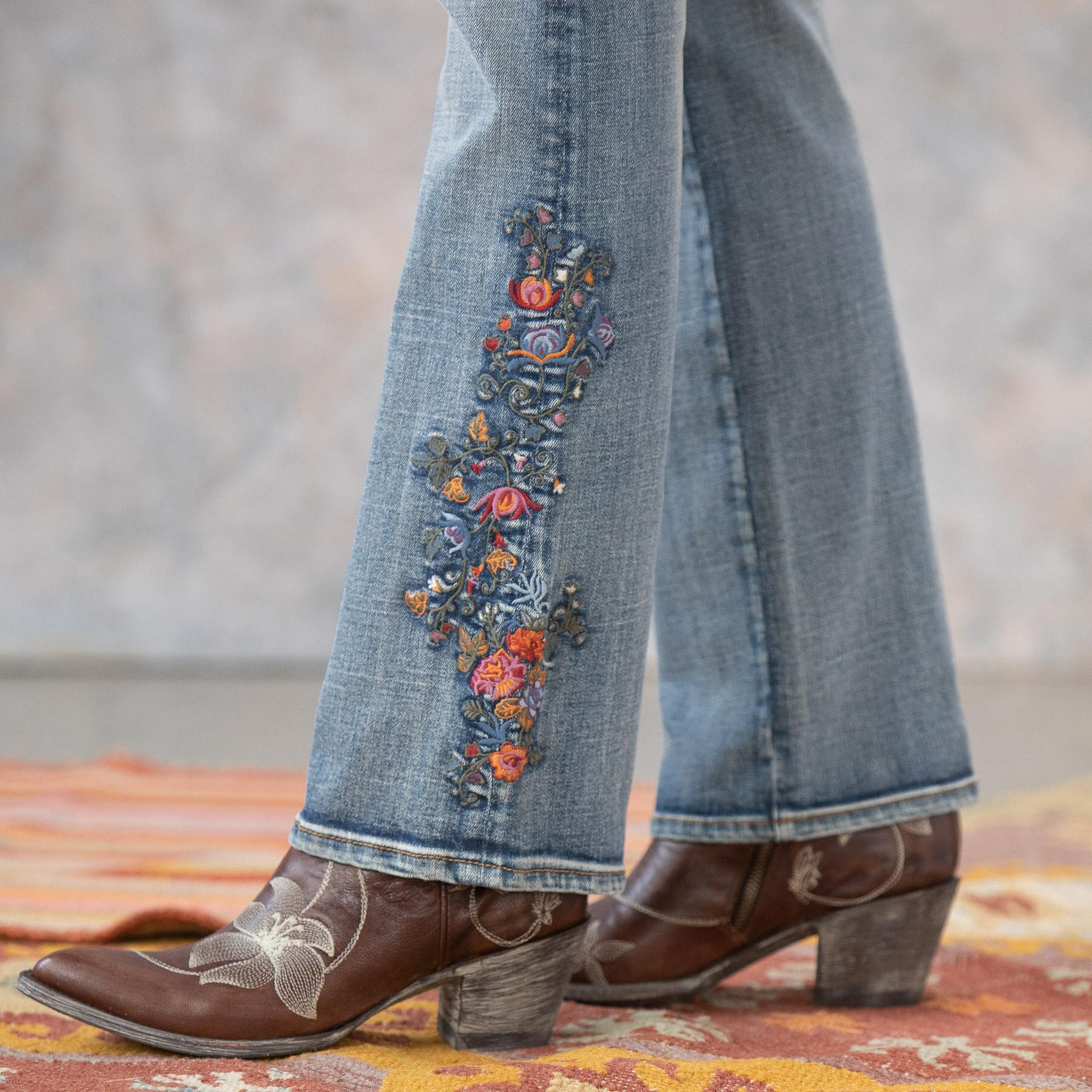 KELLY MULBERRY BLOSSOM JEANS: View 6