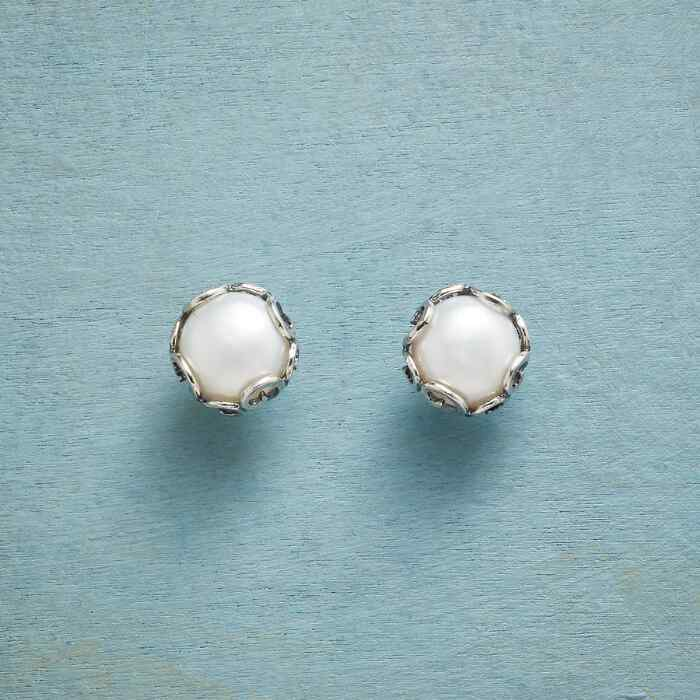 PEARL DIADEM EARRINGS