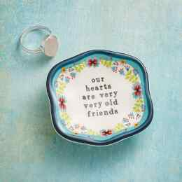 OLD FRIENDS TRINKET DISH