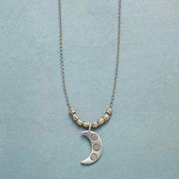 SUNSTRUCK MOON NECKLACE
