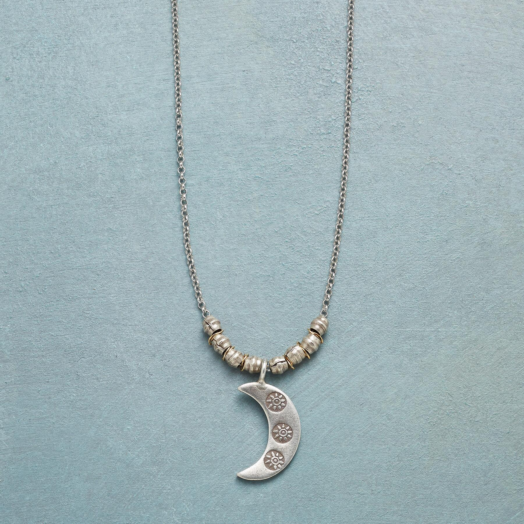 SUNSTRUCK MOON NECKLACE: View 1
