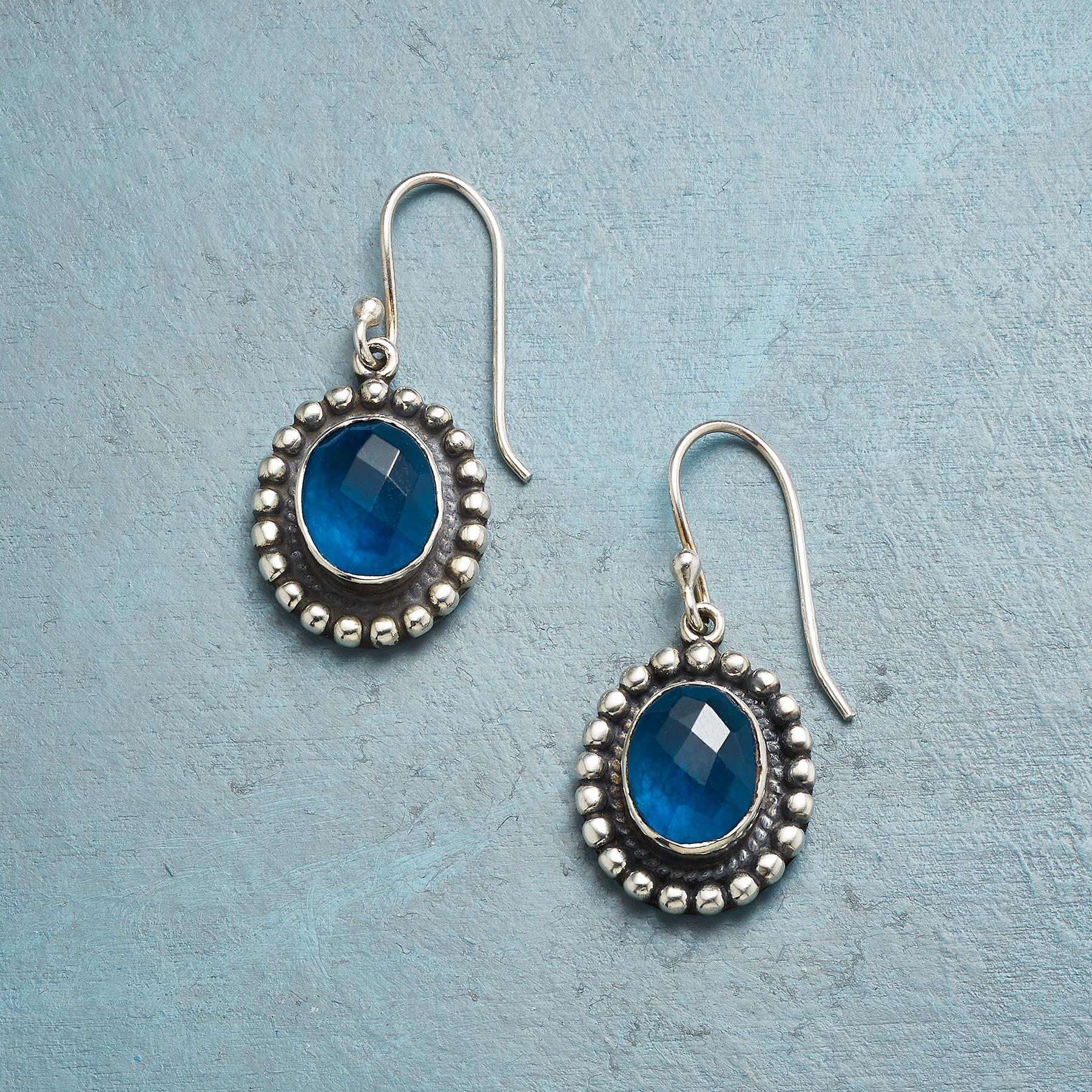 BLUE LAGOON EARRINGS: View 1
