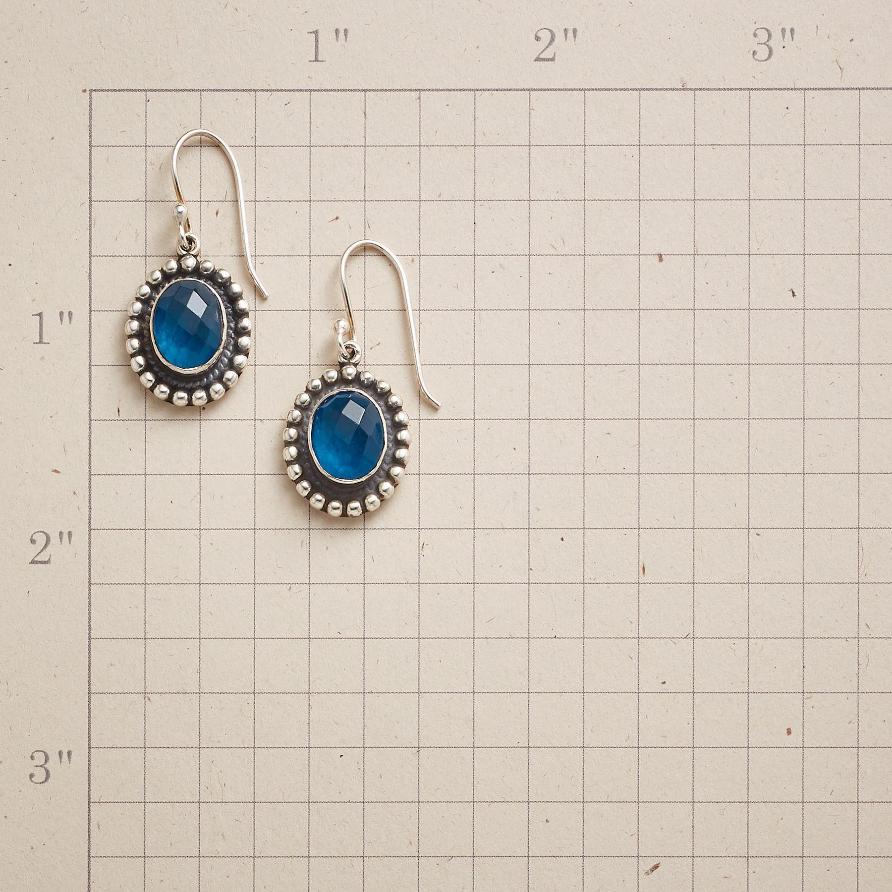 BLUE LAGOON EARRINGS: View 2