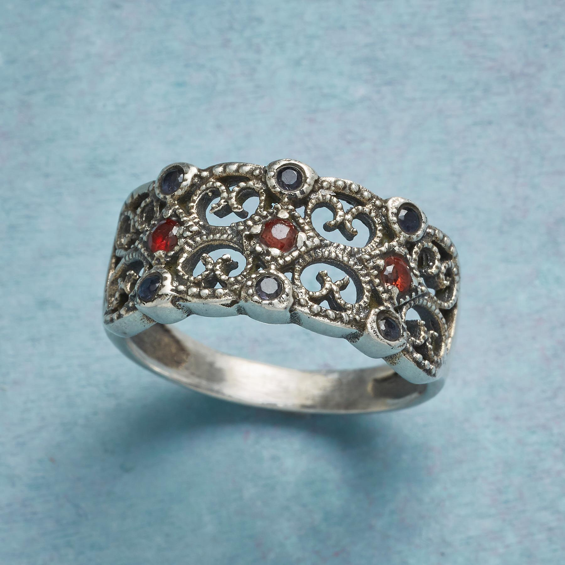 BAROQUE LACE RING: View 1