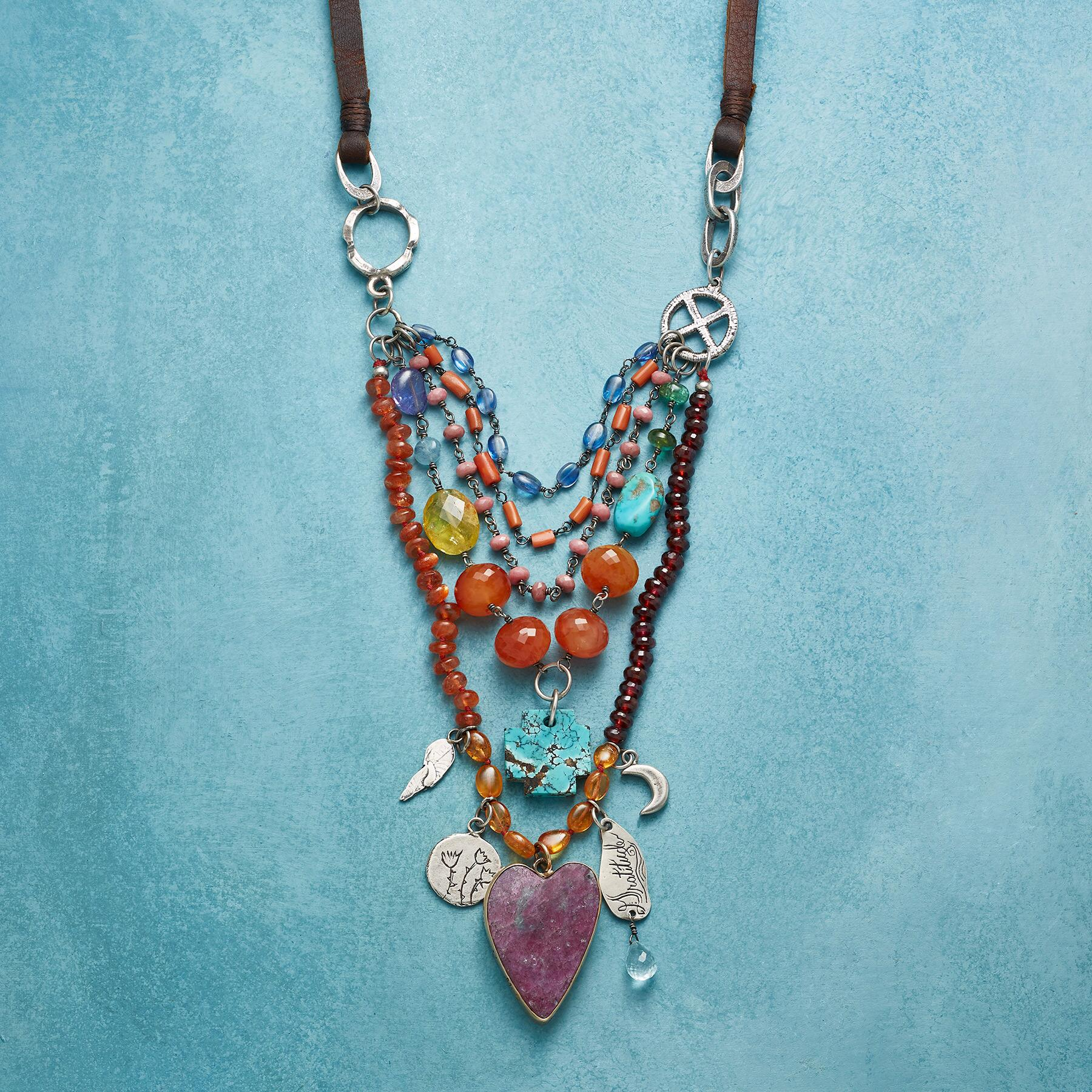 HEART'S JOURNEY NECKLACE: View 1