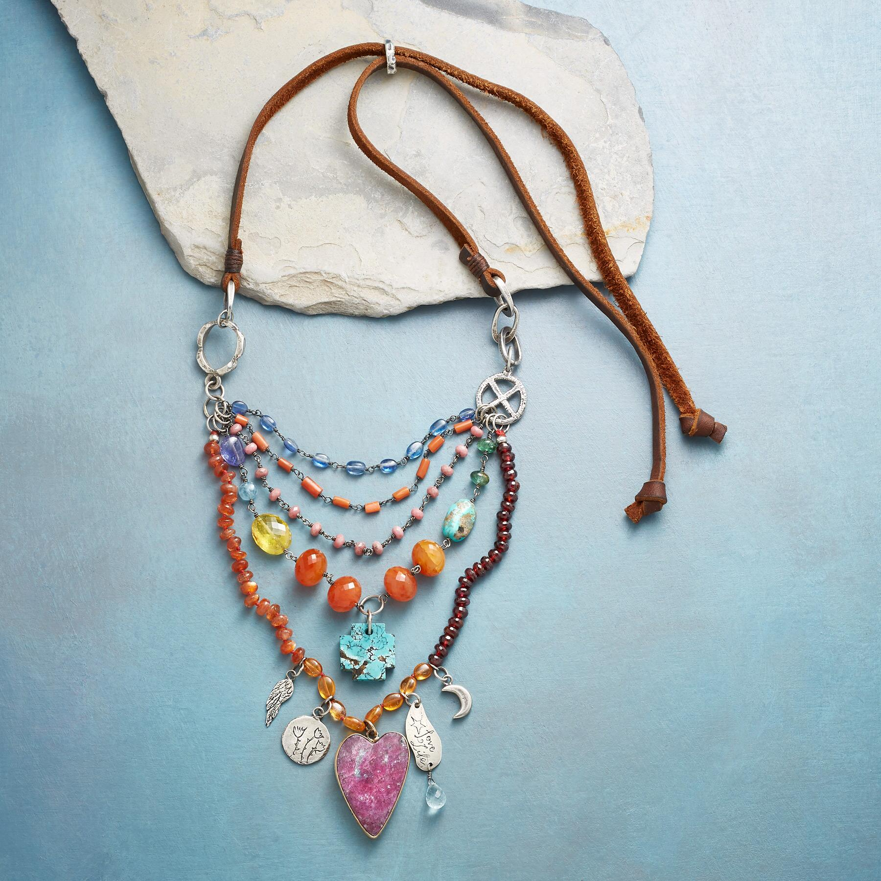 HEART'S JOURNEY NECKLACE: View 2