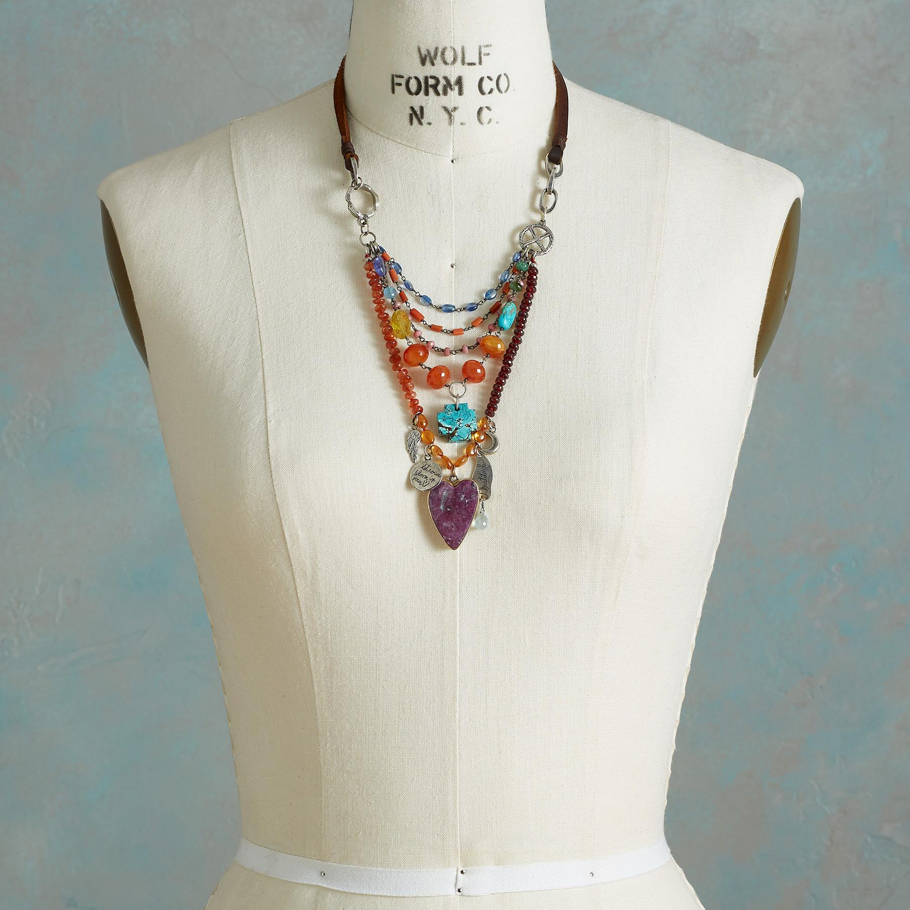 HEART'S JOURNEY NECKLACE: View 4