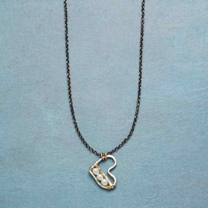 BOTTOM OF MY HEART NECKLACE