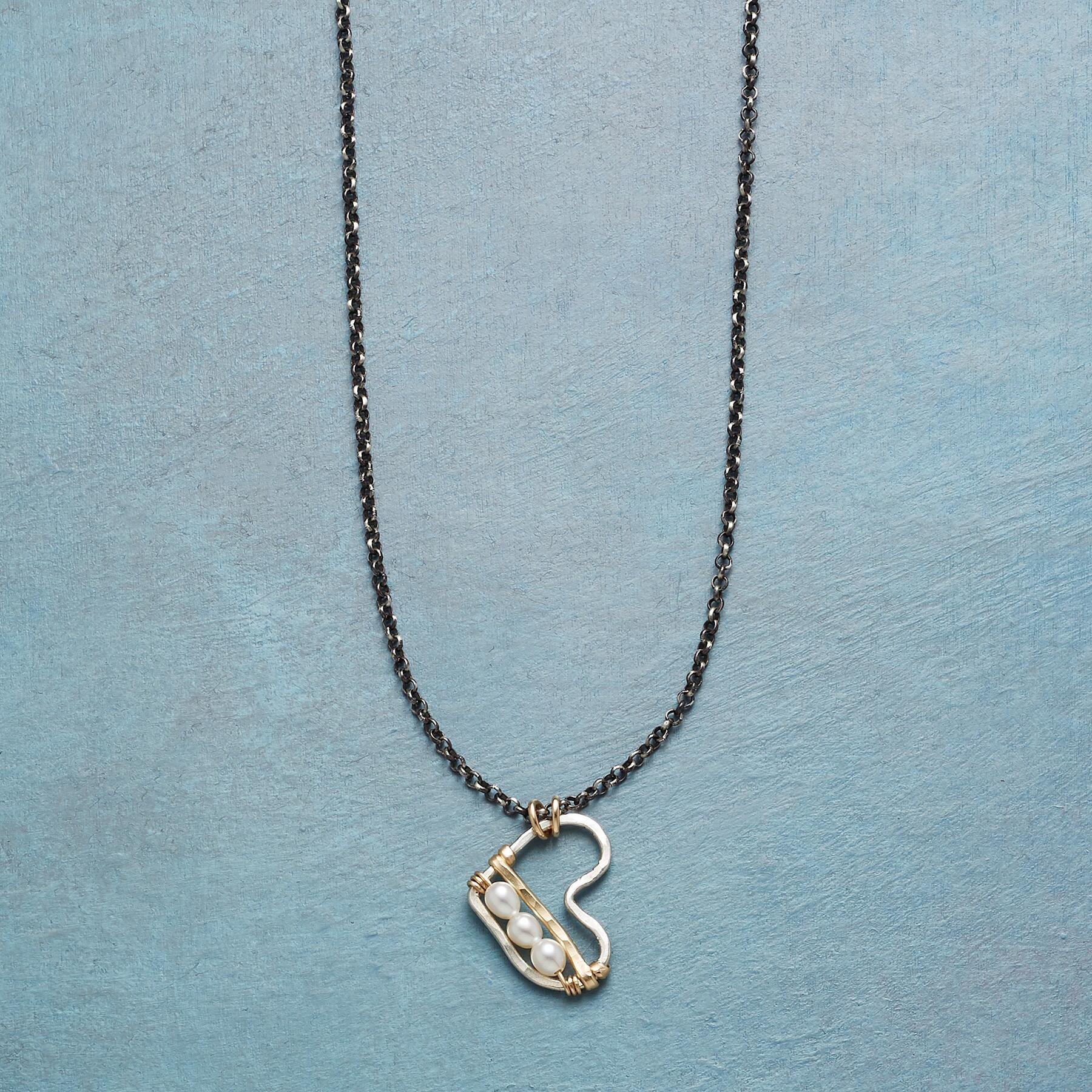BOTTOM OF MY HEART NECKLACE: View 1