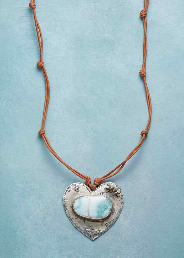 TRANQUIL HEART NECKLACE