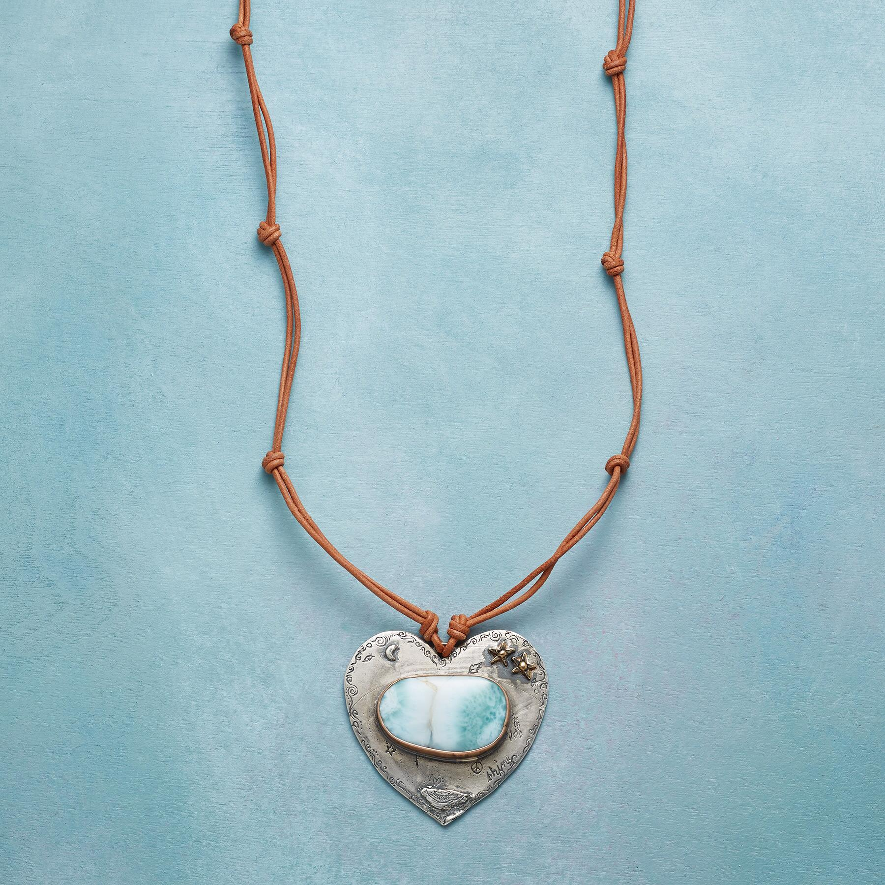 TRANQUIL HEART NECKLACE: View 1