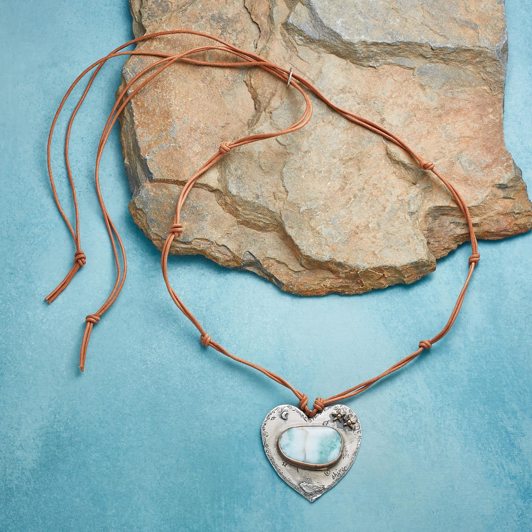 TRANQUIL HEART NECKLACE: View 2