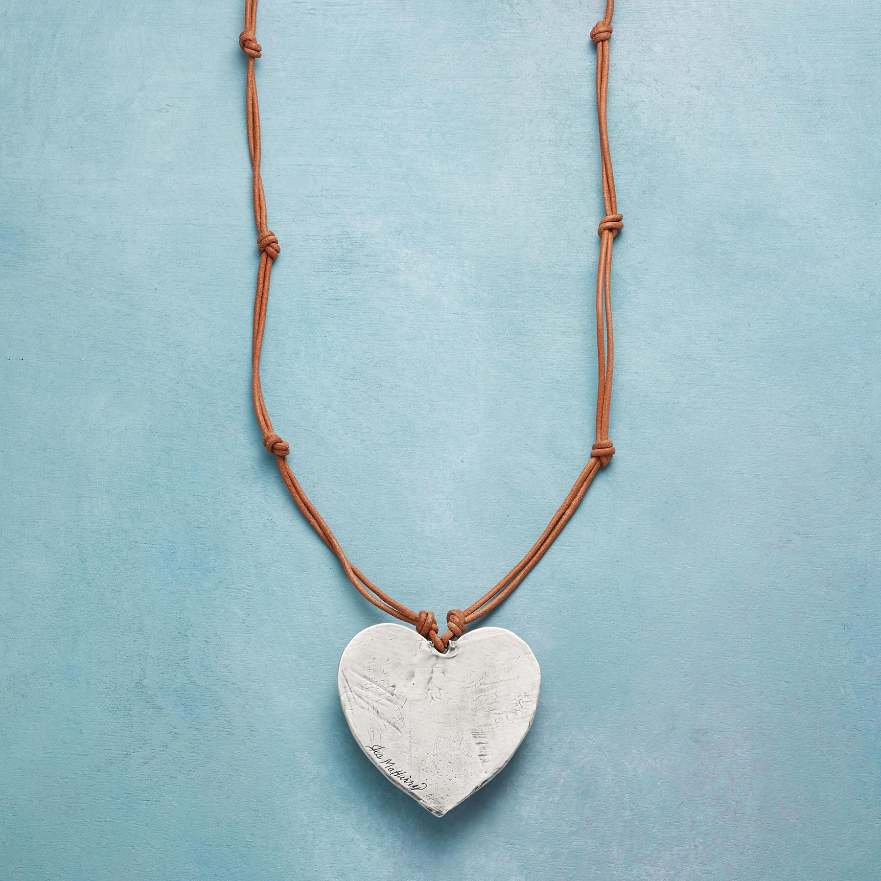 TRANQUIL HEART NECKLACE: View 3