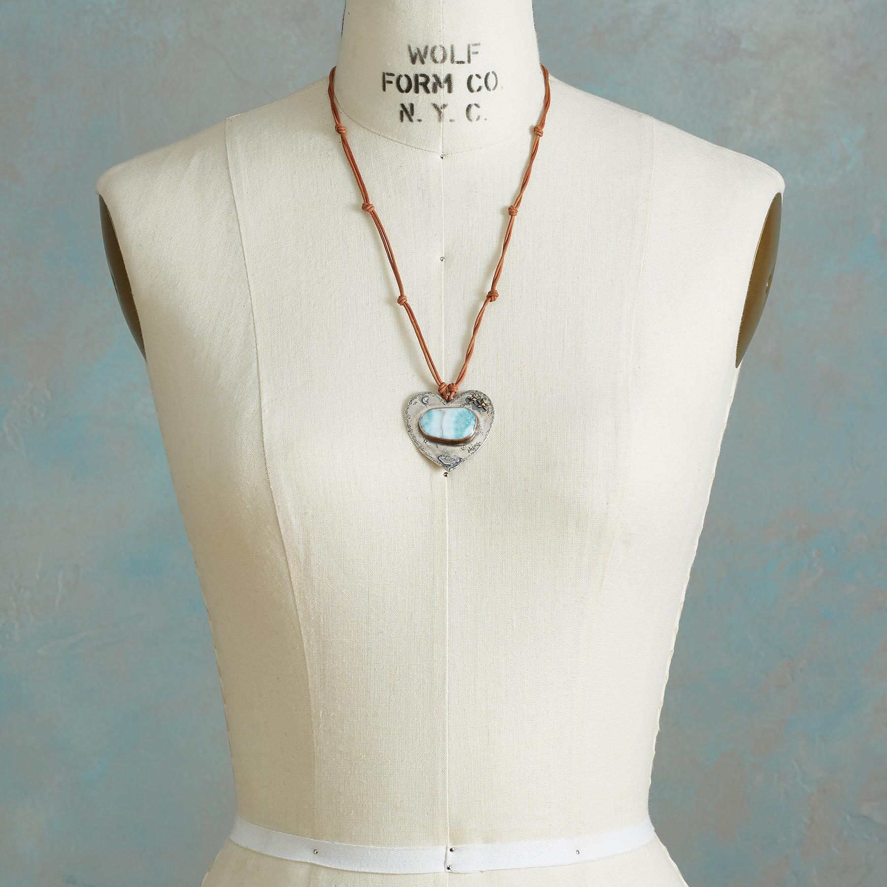 TRANQUIL HEART NECKLACE: View 4