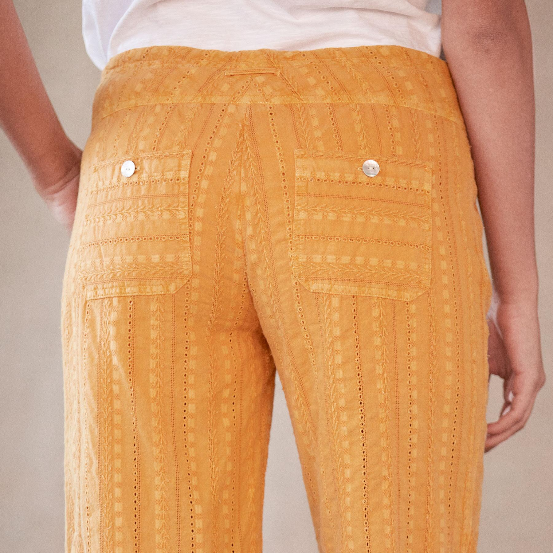 GIGI EYELET PANTS: View 5