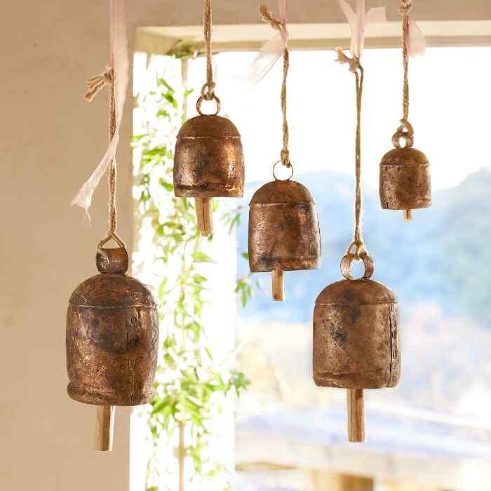 ANCIENT MELODY BELLS, SET OF 5