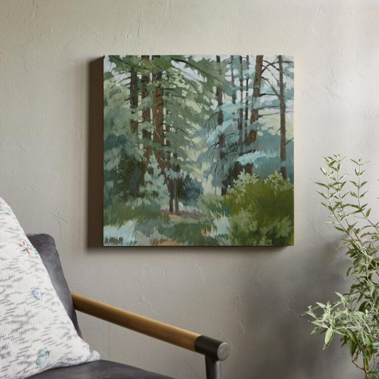IN THE PINES PAINTING