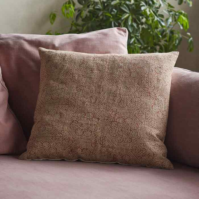 WISTERIA SAFFRON PILLOW