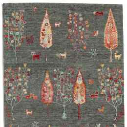 WOODLAND GREETING RUG, LARGE