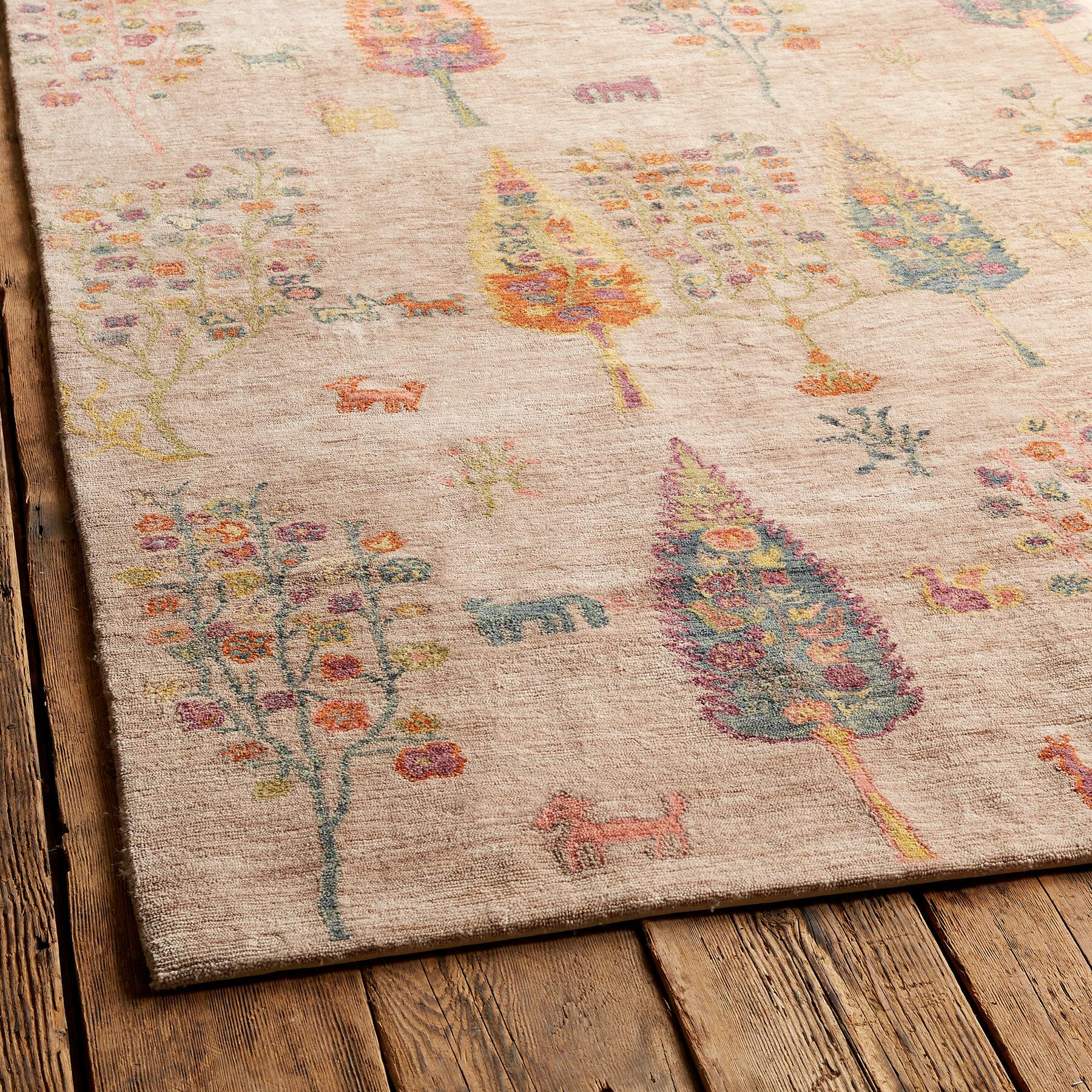 WOODLAND GREETING RUG, LARGE: View 2