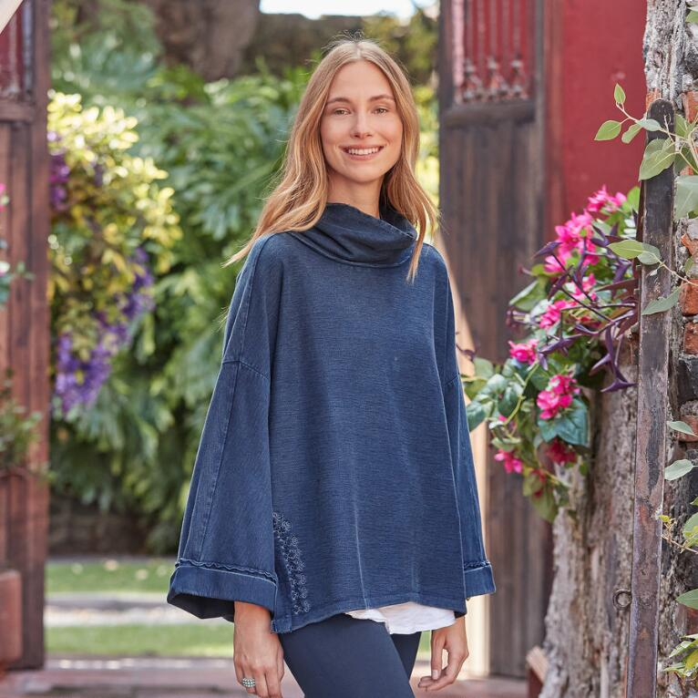 INDIGO DAYS SWEATSHIRT