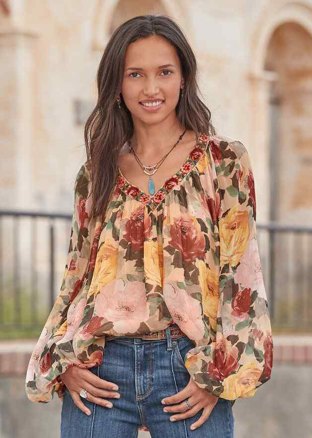 POETIC WHIMSY TOP