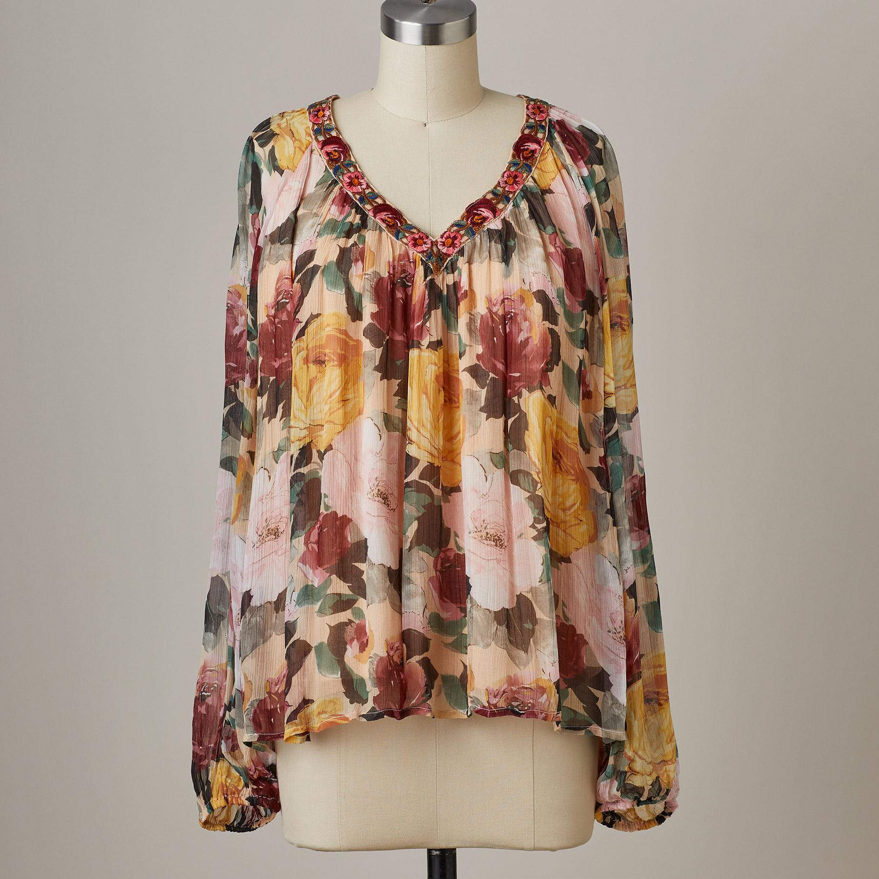 POETIC WHIMSY TOP: View 2