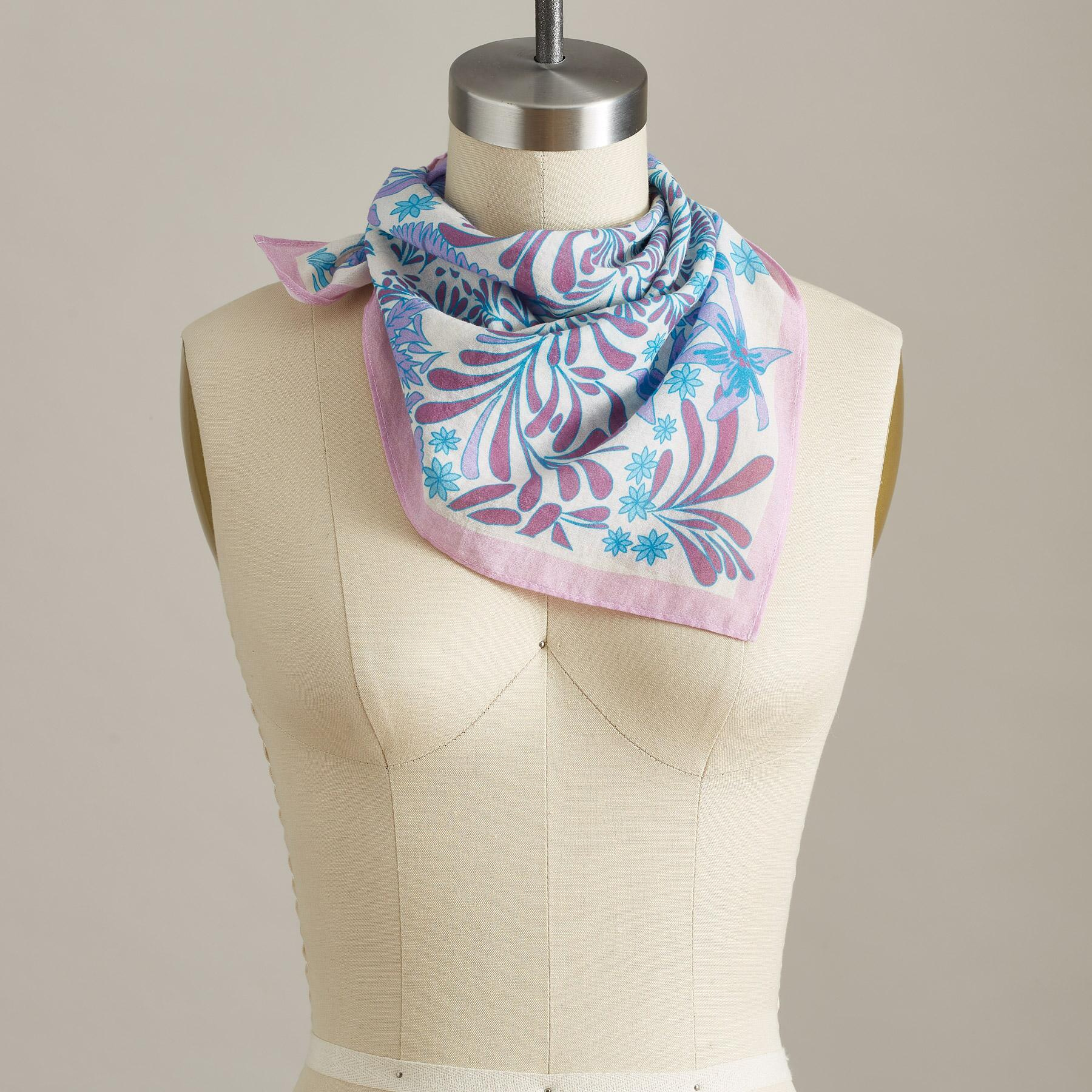 FLOREALE SCARF: View 2