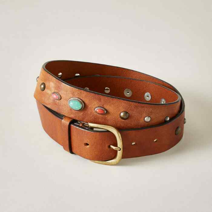 PAINTED PEBBLES BELT