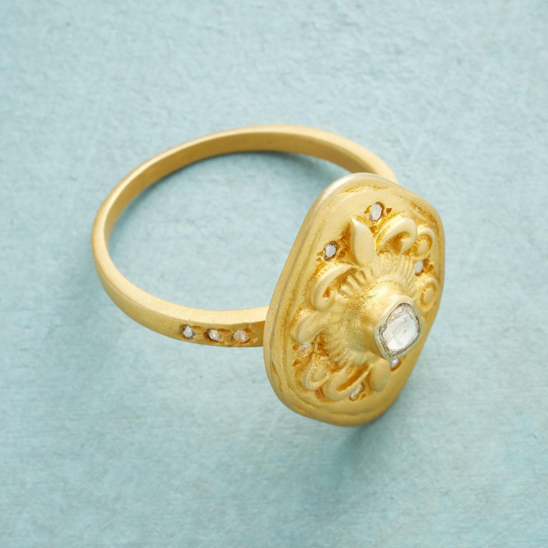 BEAU SOLEIL DIAMOND RING: View 2
