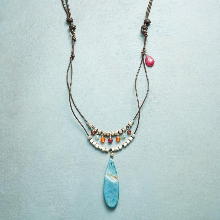 FADE TO BLUE NECKLACE