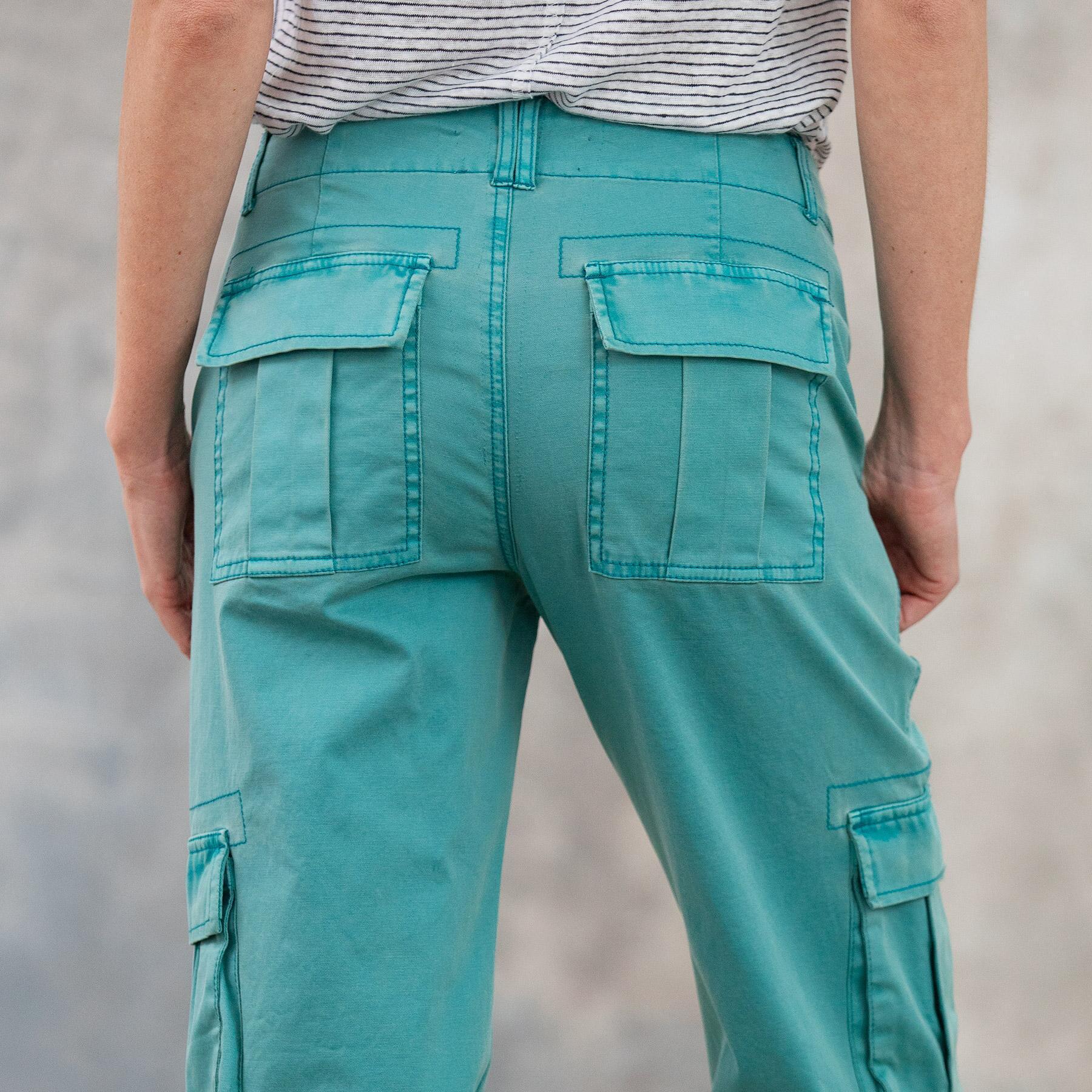 CALLIOPE CARGO PANTS - PETITES: View 6