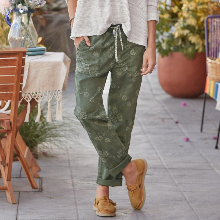 DELICATE VINES PANTS