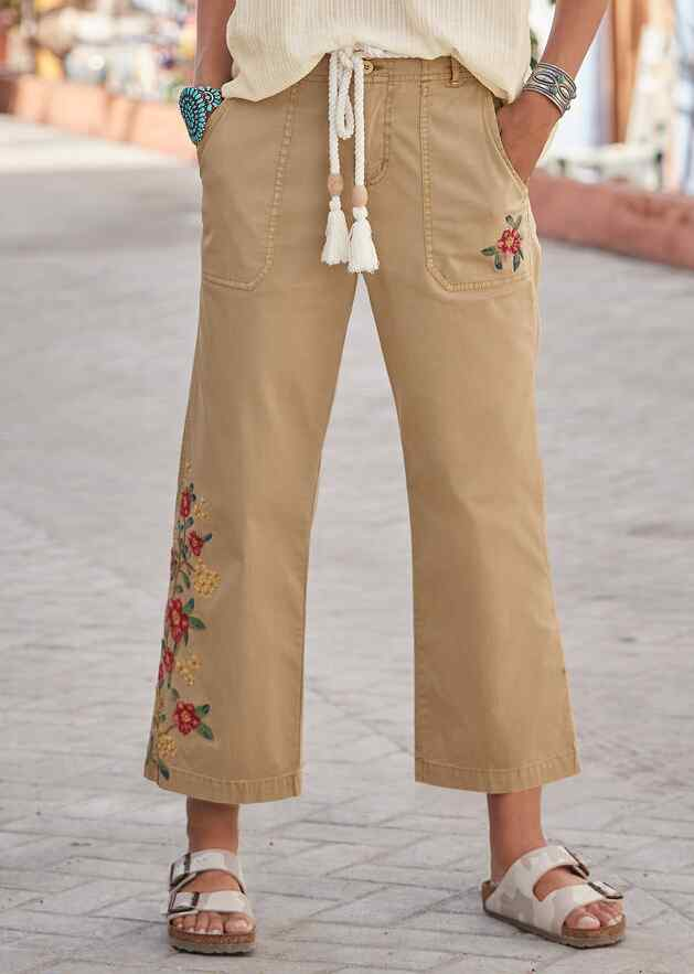 PRIMROSE BLOOM PANTS - PETITES