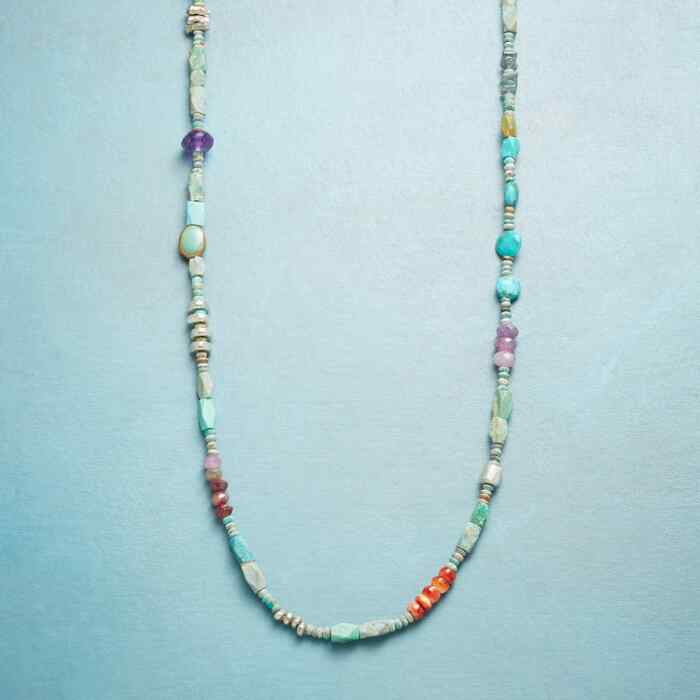 CHAIN OF LAKES NECKLACE