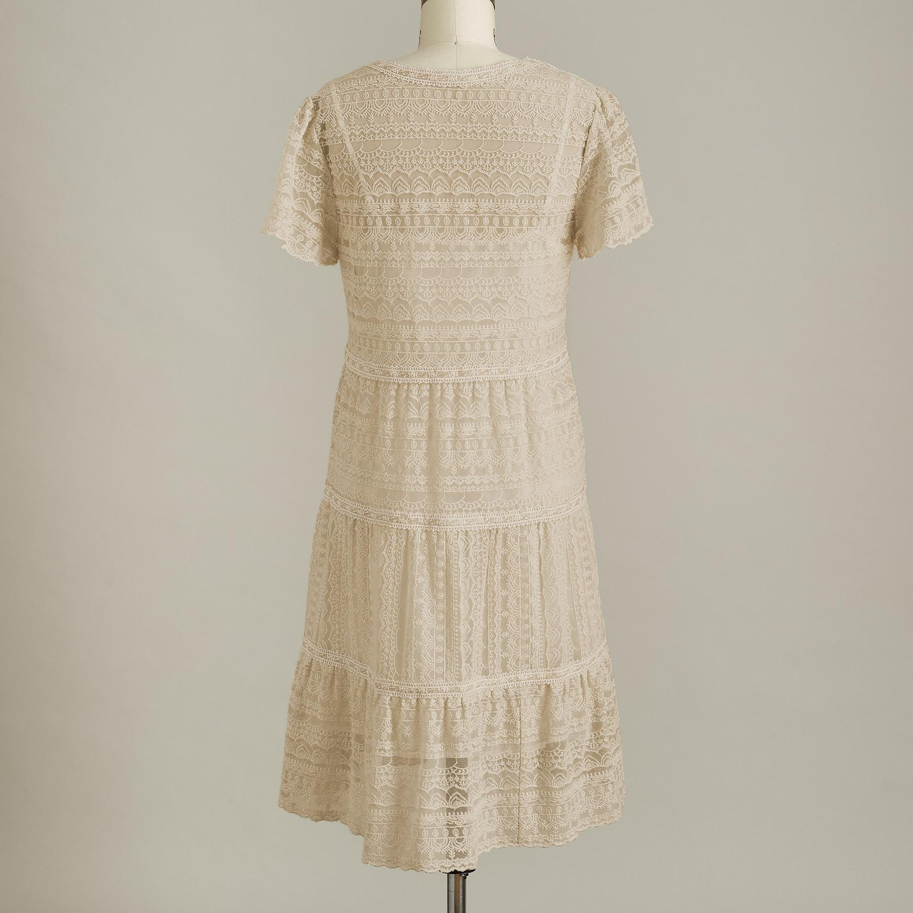 WALK IN THE MEADOWS DRESS - PETITES: View 3