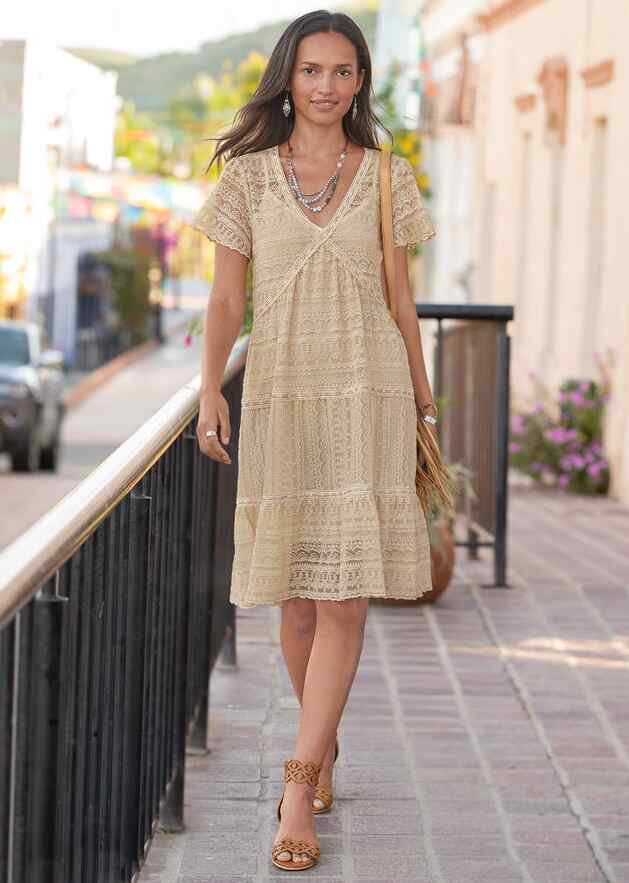 WALK IN THE MEADOWS DRESS