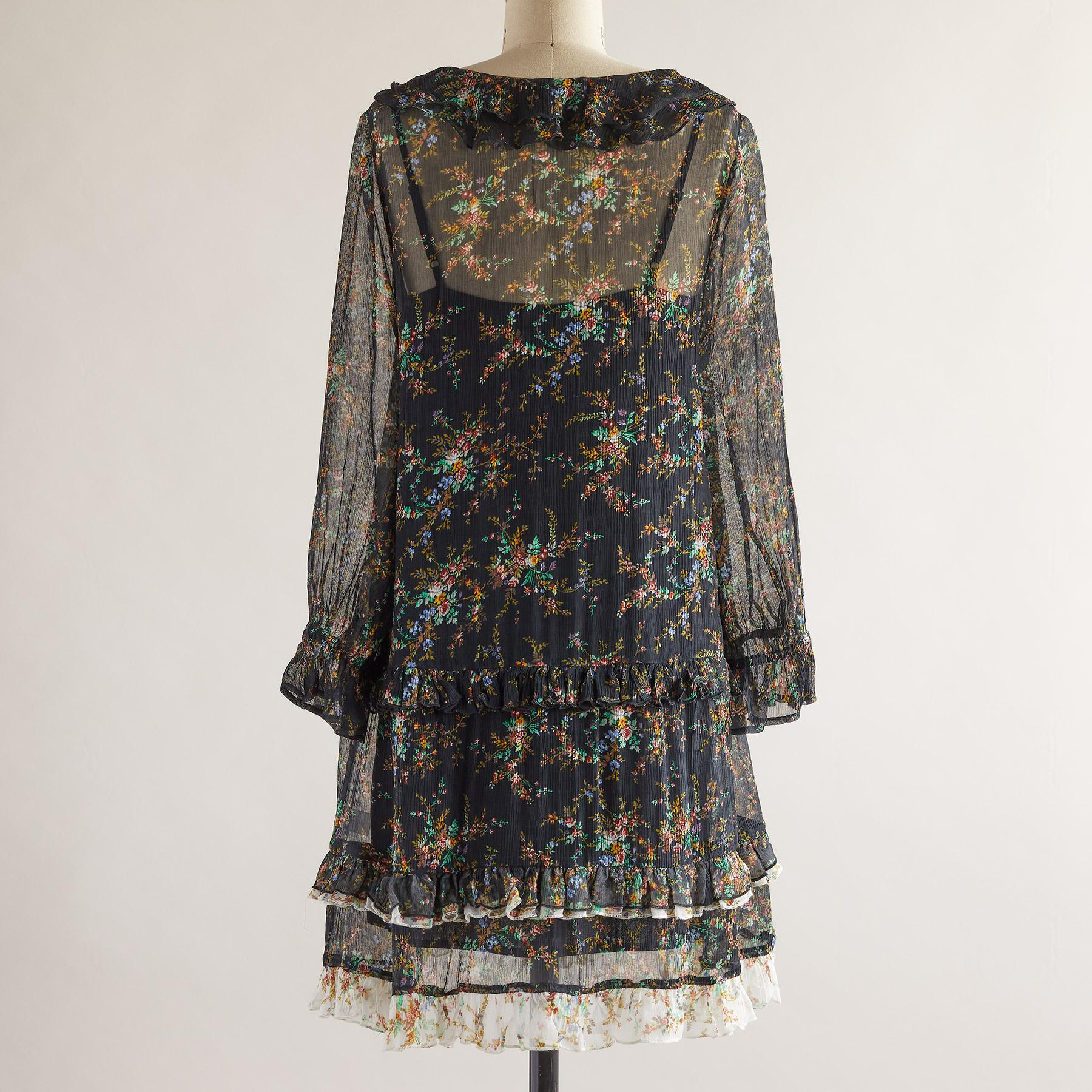 MIST IN THE MEADOWS DRESS - PETITES: View 3