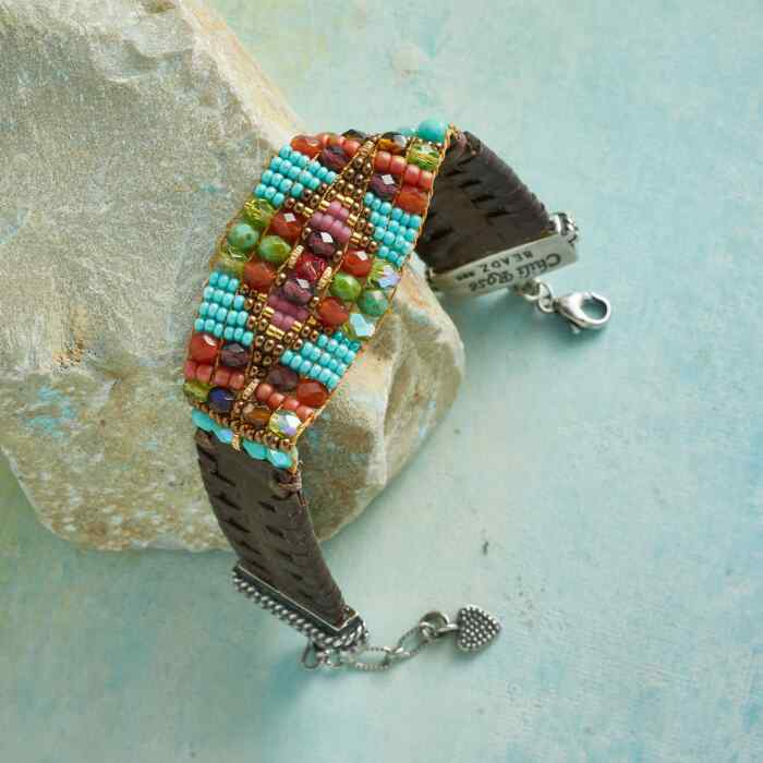 RIDE WEST BEADED BRACELET