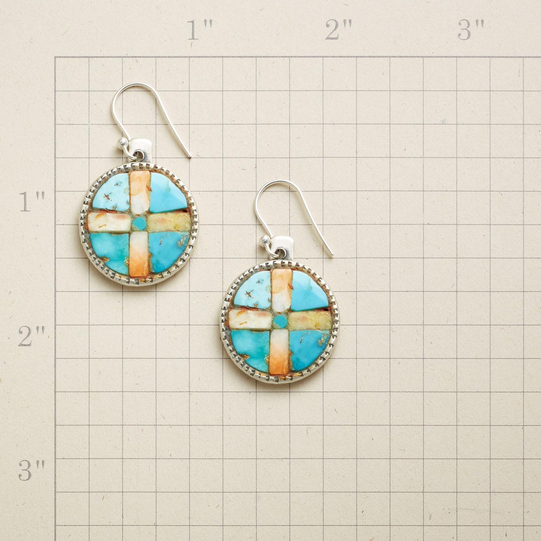 COMPASS POINTS EARRINGS: View 2