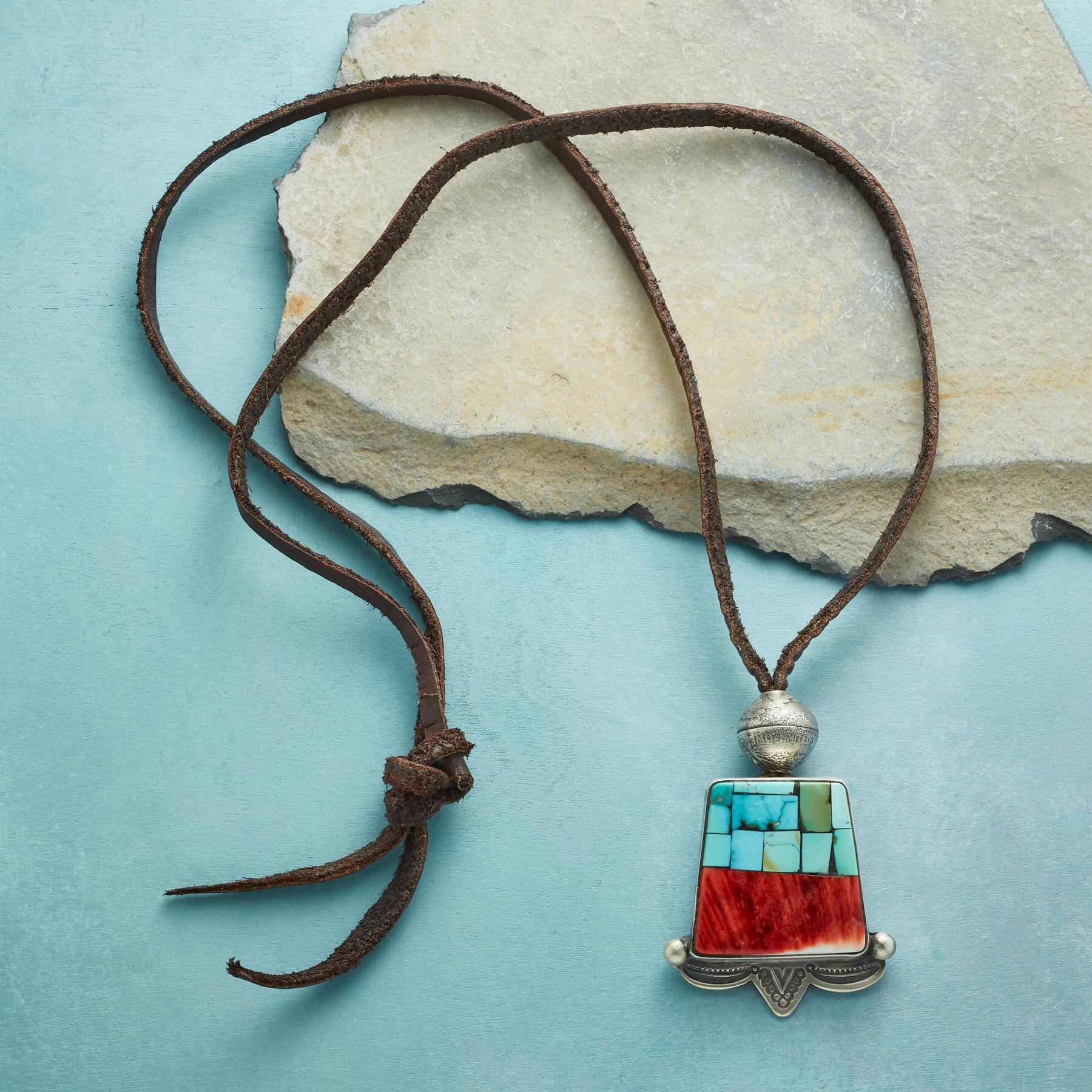 CANYONLANDS MOSAIC NECKLACE: View 2