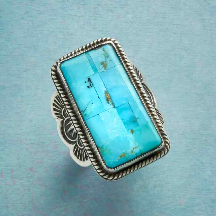 AT ALTITUDE TURQUOISE RING