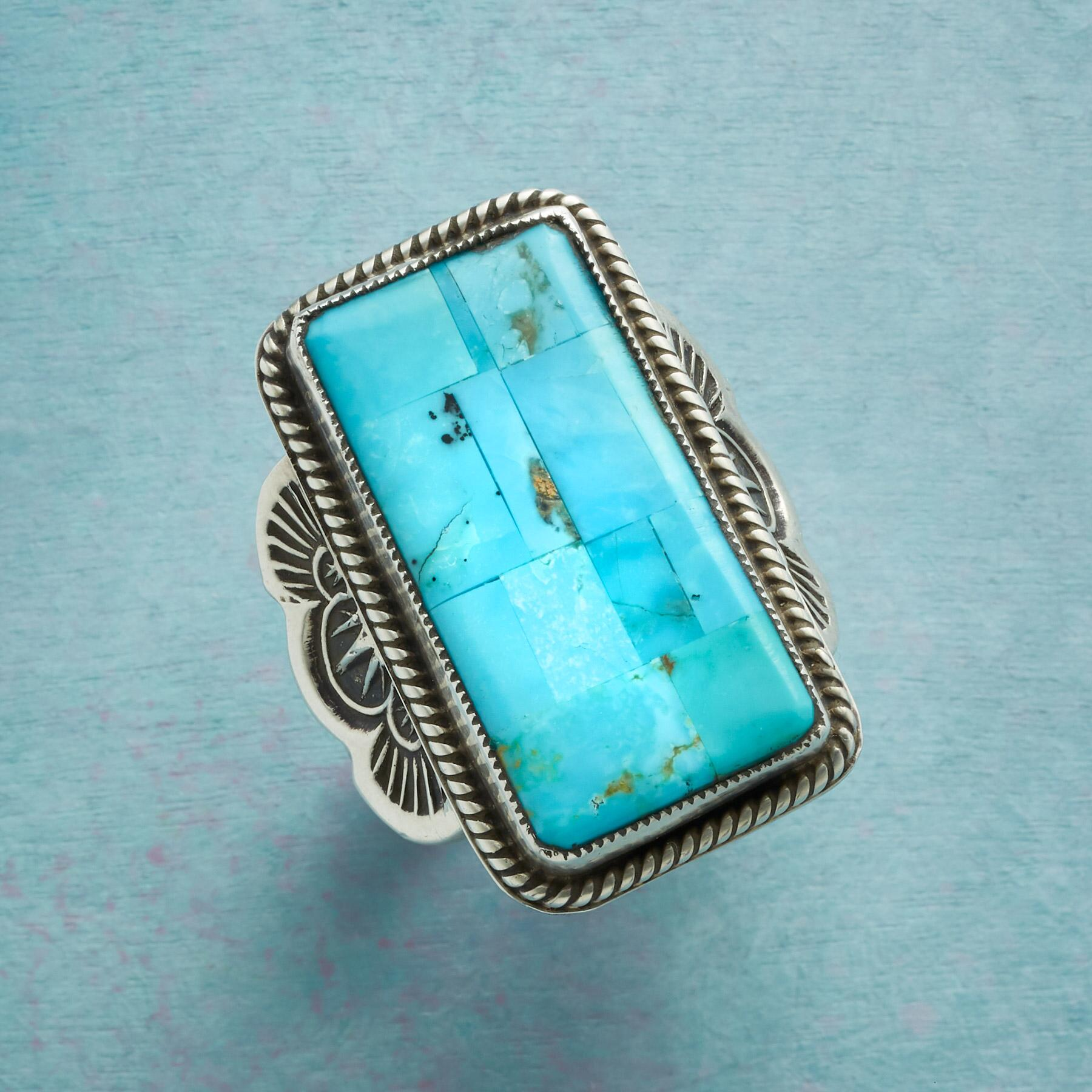 AT ALTITUDE TURQUOISE RING: View 1