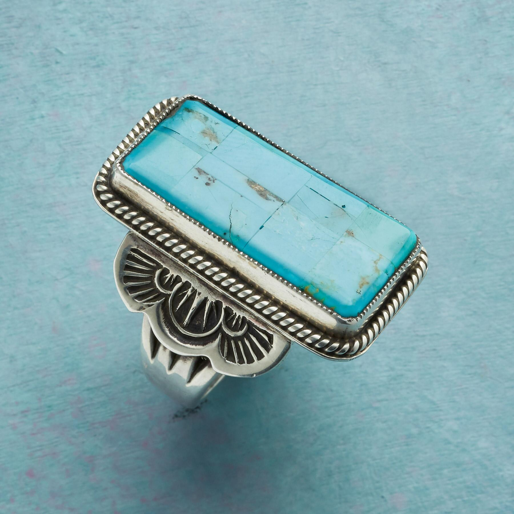 AT ALTITUDE TURQUOISE RING: View 2